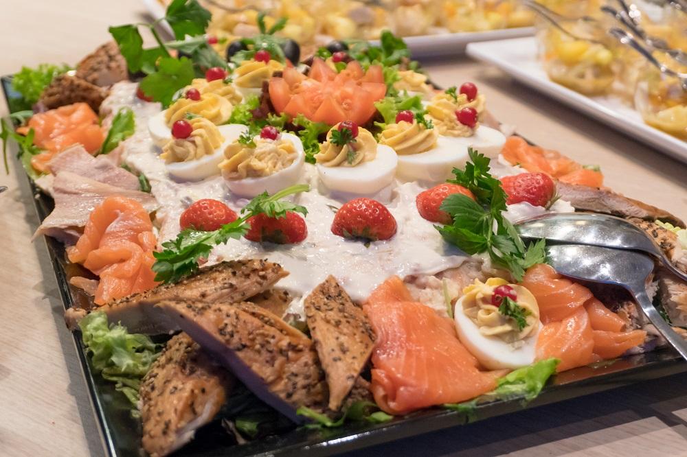Zalm salade luxe