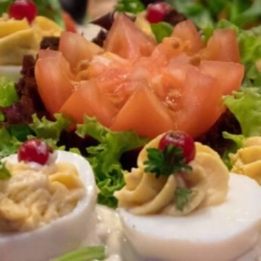 Luchtige lunch met salades